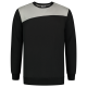 SWEAT SHIRT BICOLORE COUTURES