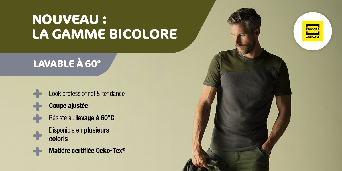 Gamme bicolore Tricorp