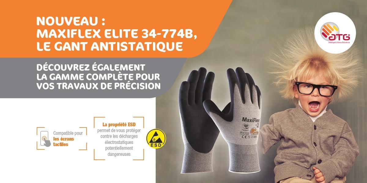 774B gant anti-statique